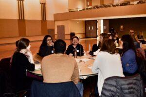 Interdisciplinary case study table