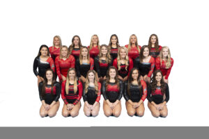 NIU Women's Gymnastics Team